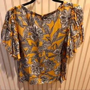 Tops - Ann Taylor Loft patterned top